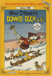 Cover Thumbnail for Donald Duck for 30 år siden (Hjemmet / Egmont, 1978 series) #1/1979 [2. opplag]