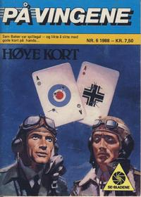 Cover Thumbnail for På Vingene (Serieforlaget / Se-Bladene / Stabenfeldt, 1963 series) #6/1988