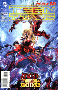Cover Thumbnail for Teen Titans (DC, 2011 series) #14 [Direct Sales]