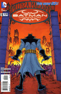 Cover Thumbnail for Batman Incorporated (DC, 2012 series) #5