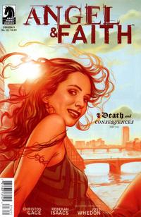 Cover Thumbnail for Angel & Faith (Dark Horse, 2011 series) #16 [Steve Morris Cover]