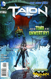 Cover Thumbnail for Talon (DC, 2012 series) #2