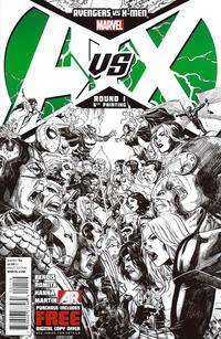 Cover for Avengers vs. X-Men (Marvel, 2012 series) #1