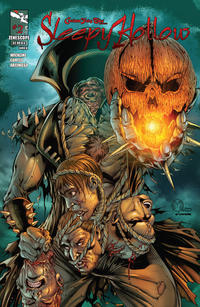 Cover Thumbnail for Grimm Fairy Tales Presents Sleepy Hollow (Zenescope Entertainment, 2012 series) #2 [Cover A Marat Mychaels Ivan Nunes]
