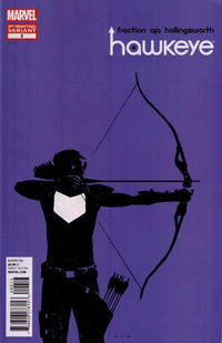 Cover Thumbnail for Hawkeye (Marvel, 2012 series) #2 [3rd Printing Cover by David Aja]