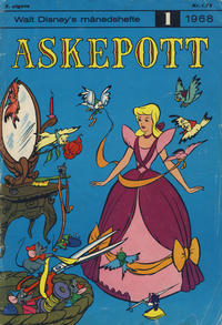 Cover Thumbnail for Walt Disney's månedshefte (Hjemmet / Egmont, 1967 series) #1/1968