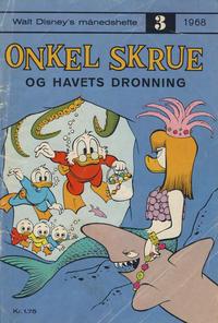 Cover Thumbnail for Walt Disney's Månedshefte (Hjemmet / Egmont, 1967 series) #3/1968
