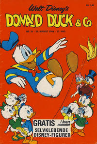 Cover Thumbnail for Donald Duck & Co (Hjemmet / Egmont, 1948 series) #35/1968