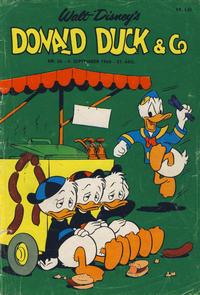Cover Thumbnail for Donald Duck & Co (Hjemmet / Egmont, 1948 series) #36/1968