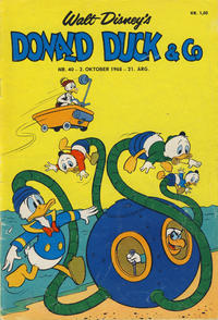 Cover Thumbnail for Donald Duck & Co (Hjemmet / Egmont, 1948 series) #40/1968