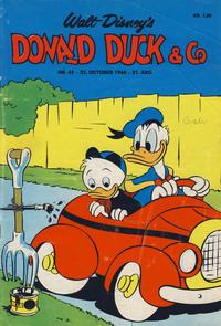 Cover Thumbnail for Donald Duck & Co (Hjemmet / Egmont, 1948 series) #43/1968