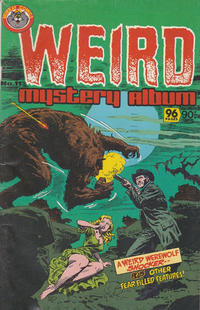 Cover Thumbnail for Weird Mystery Album (K. G. Murray, 1980 series) #11