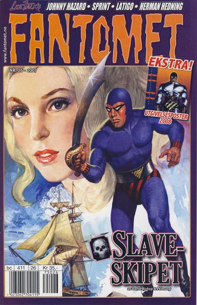 Cover for Fantomet (Hjemmet / Egmont, 1998 series) #26/2007