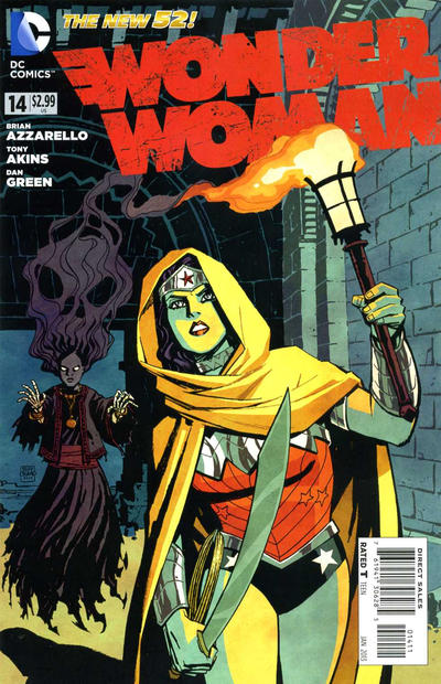 Cover for Wonder Woman (DC, 2011 series) #14