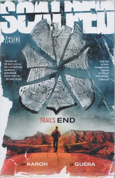 Cover for Scalped (DC, 2007 series) #10 - Trail's End