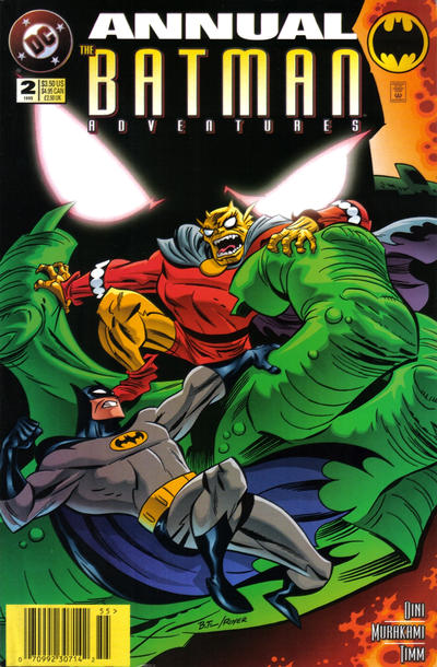 Cover for The Batman Adventures Annual (DC, 1994 series) #2 [Direct Edition]