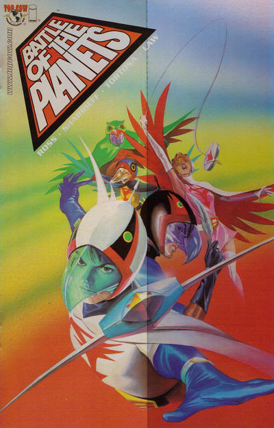 Cover for Battle of the Planets (Image, 2002 series) #1 [Cover 1D]
