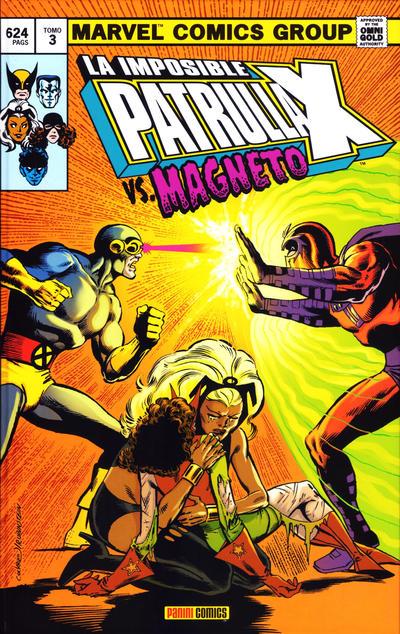 Cover for Marvel Gold. La Imposible Patrulla-X (Panini España, 2011 series) #3 - Vs. Magneto