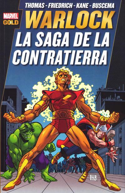 Cover for Marvel Gold. Warlock: La Saga de la Contratierra (Panini España, 2012 series)