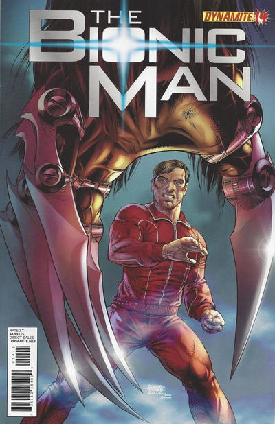 Cover for Bionic Man (Dynamite Entertainment, 2011 series) #14 [Cover B (1-in-10) Ed Tadeo]