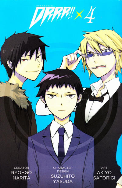 Cover for Durarara!! (Hachette Book Group USA, 2012 series) #4