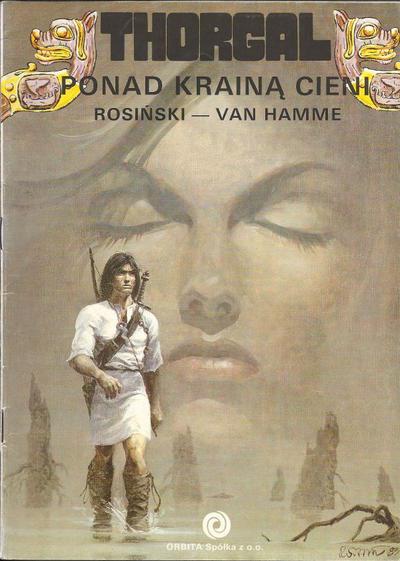 Cover for Thorgal (Orbita, 1989 series) #5 - Ponad krainą cieni