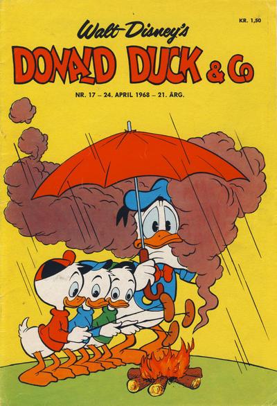 Cover for Donald Duck & Co (Hjemmet / Egmont, 1948 series) #17/1968