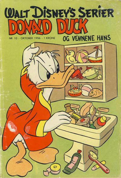 Cover for Walt Disney's serier (Hjemmet / Egmont, 1950 series) #10/1956