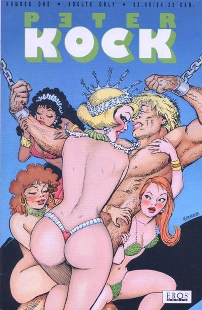 Cover for Peter Kock (Fantagraphics, 1994 series) #1