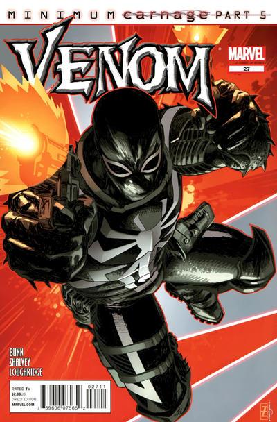 Cover for Venom (Marvel, 2011 series) #27