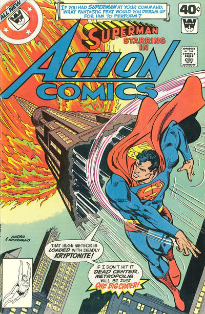Cover for Action Comics (DC, 1938 series) #497 [Whitman]