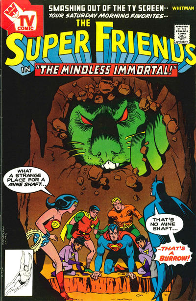 Cover for Super Friends (DC, 1976 series) #13 [Whitman Variant]