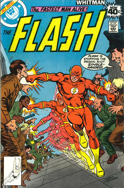 Cover for The Flash (DC, 1959 series) #273 [Whitman Variant]