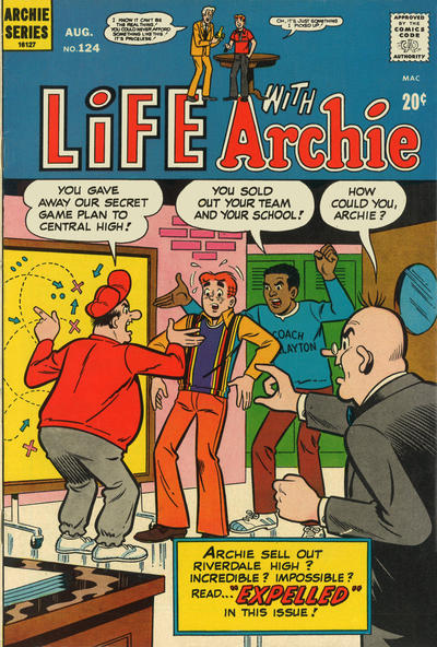 Cover for Life with Archie (Archie, 1958 series) #124