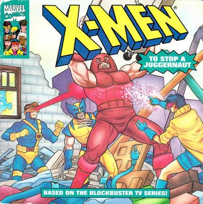 Cover for X-Men: To Stop a Juggernaut (Random House, 1993 series)