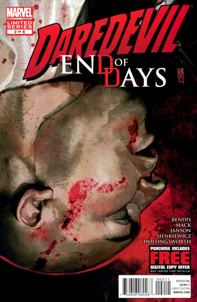 Cover for Daredevil: End of Days (Marvel, 2012 series) #2