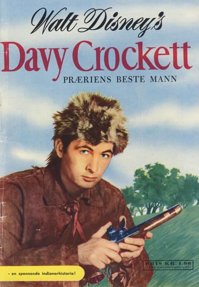 Cover for Walt Disney's Davy Crockett præriens beste mann (Hjemmet / Egmont, 1956 series)
