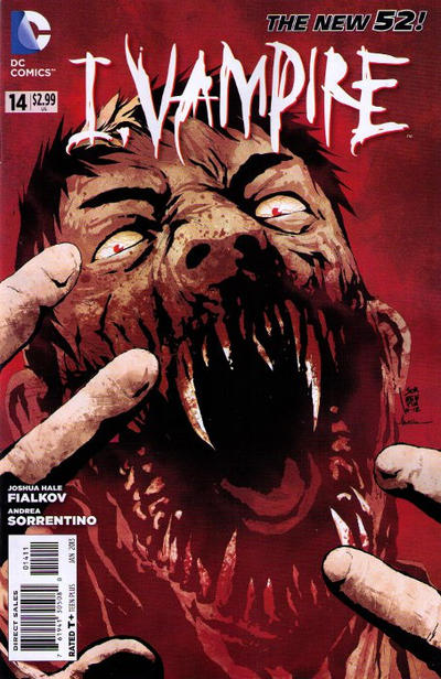 Cover for I, Vampire (DC, 2011 series) #14