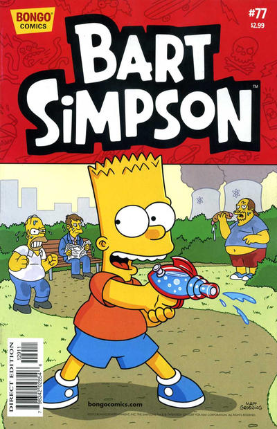 Cover for Simpsons Comics Presents Bart Simpson (Bongo, 2000 series) #77
