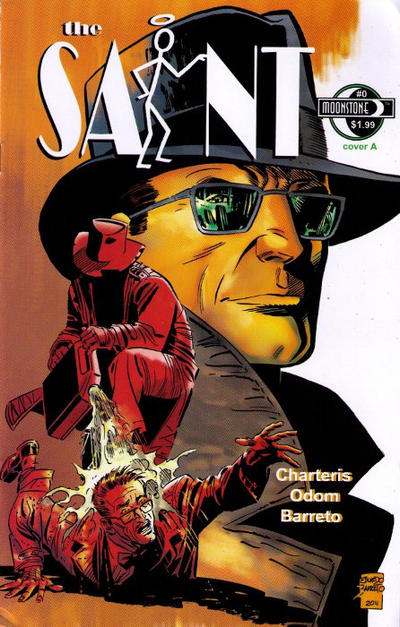 Cover for The Saint (Moonstone, 2012 series) #0 [Cover A]