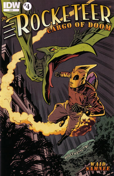 Cover for The Rocketeer: Cargo of Doom (IDW, 2012 series) #4