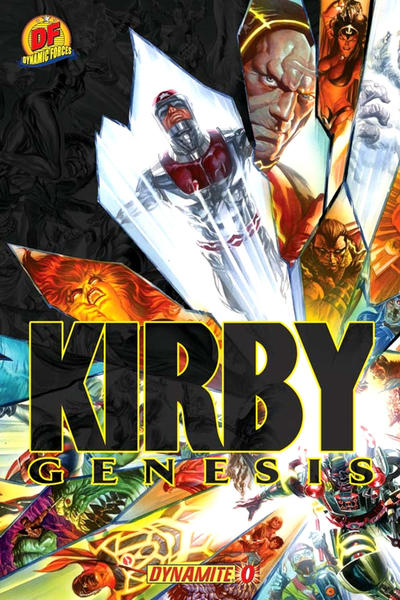 Cover for Kirby: Genesis (Dynamite Entertainment, 2011 series) #0 [Alex Ross Main Cover]