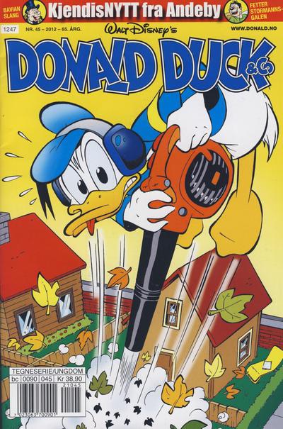 Cover for Donald Duck & Co (Hjemmet / Egmont, 1948 series) #45/2012