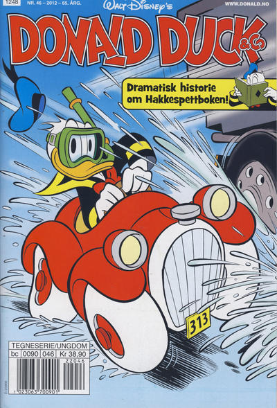 Cover for Donald Duck & Co (Hjemmet / Egmont, 1948 series) #46/2012