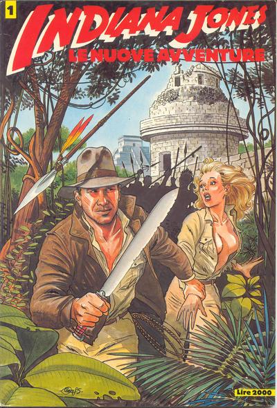 Cover for Indiana Jones (Edizioni L'Isola Trovata, 1985 series) #1