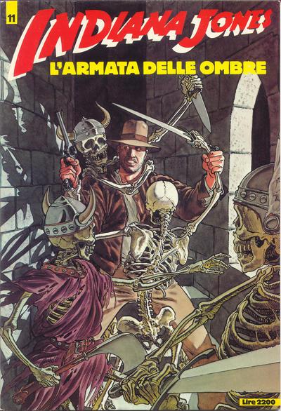 Cover for Indiana Jones (Edizioni L'Isola Trovata, 1985 series) #11