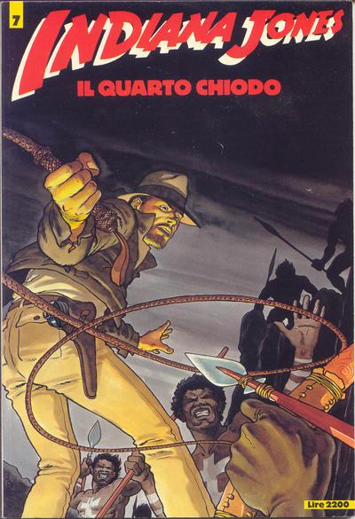 Cover for Indiana Jones (Edizioni L'Isola Trovata, 1985 series) #7