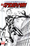 Cover for Ultimate Comics Spider-Man (Marvel, 2011 series) #1 [Marvel Retailer Resource Center Sketch Variant Cover by Sara Pichelli]