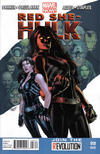 Cover for Red She-Hulk (Marvel, 2012 series) #58 [2nd Printing]