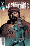 Cover for Archer and Armstrong (Valiant Entertainment, 2012 series) #1 [Cover B - Pullbox Exclusive - Clayton Henry]